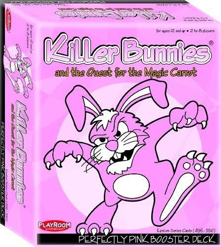 Playroom Entertainment Killer Bunnies Pink Booster
