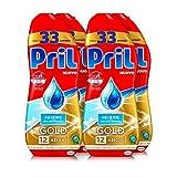 Pril Gold Gel lavastoviglie Igiene, Detersivo lavastoviglie con bicarbonato,  132 lavaggi,...