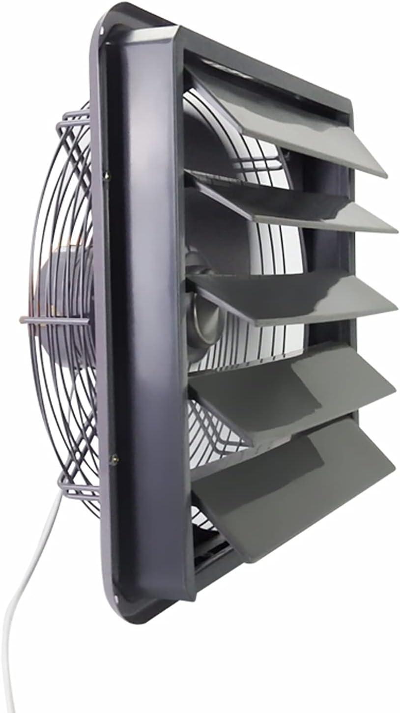 Ventilador extractor Ventilador de ventilación de la ventana de la pared persiana 12