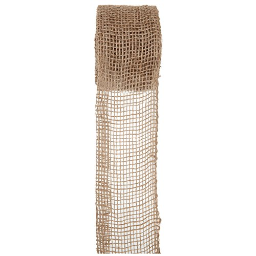 SANTEX 4893-25-70, Ruban jute 70mm, naturel