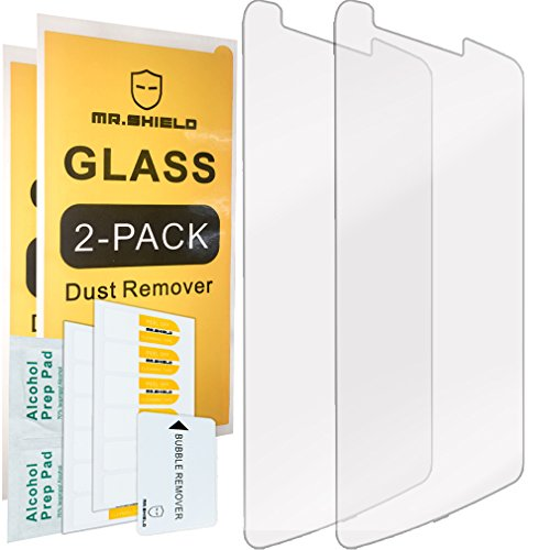 [2-PACK]-Mr.Shield For LG G3 [Tempered Glass] Screen Protector with Lifetime Replacement