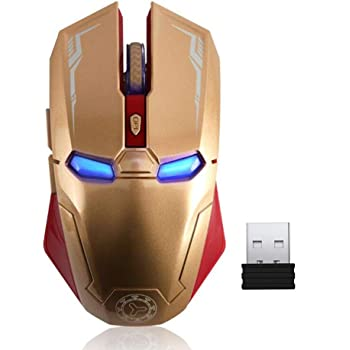 Laptop Office Mouse Color : Gold Gold//Silver//H Black Wireless Bluetooth Mouse Hengtongtongxun Wireless Portable Mouse