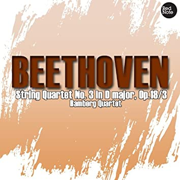 Beethoven: String Quartet No. 3 in D major, Op.18/3