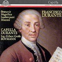 Beazus vir Magnificat Laudate pueri Miserere - Chamber Music by Capella Durante