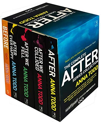 The Complete After Series Collection 5 Books Box Set by Anna Todd (After Ever Happy, After, After We