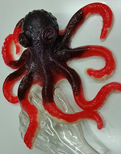 The Gummy Bear Guy | Gummy Octopus - Cherry with Blue Raspberry