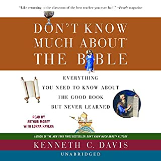 Don't Know Much about the Bible audiobook cover art
