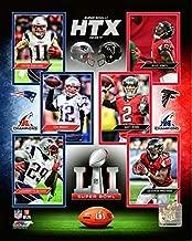 Super Bowl LI Atlanta Falcons Vs. New England Patriots Composite Photo (Size: 20