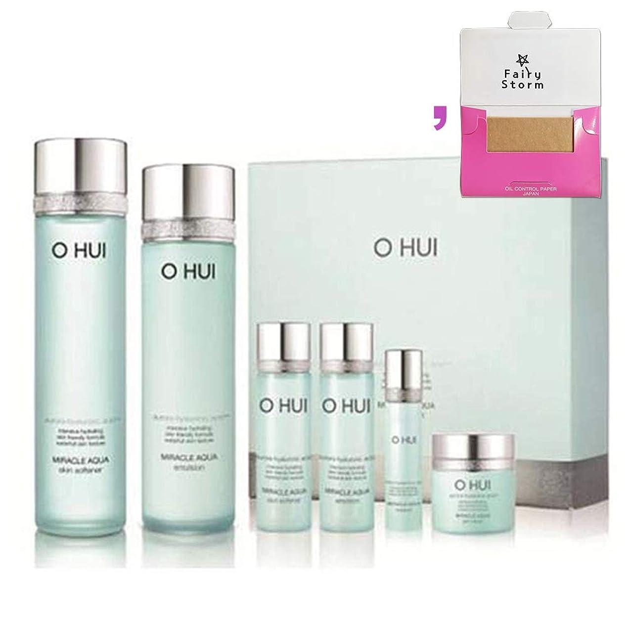 流用するもちろんジャズ[オフィ/O HUI]韓国化粧品LG生活健康/O HUI MIRACLE AQUA SPECIAL 2EA SET/ミラクルアクア 2種セット+[Sample Gift](海外直送品)
