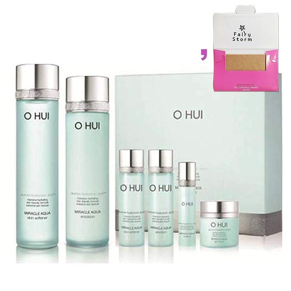 機関車デッドロック蛇行[オフィ/O HUI]韓国化粧品LG生活健康/O HUI MIRACLE AQUA SPECIAL 2EA SET/ミラクルアクア 2種セット+[Sample Gift](海外直送品)