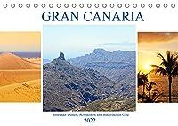 Gran Canaria - Insel der Duenen, Schluchten und malerischen Orte (Tischkalender 2022 DIN A5 quer): Die abwechslungsreichste Insel der Kanaren. (Monatskalender, 14 Seiten )