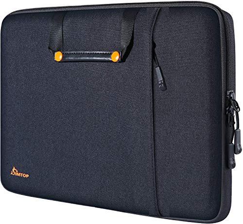SIMTOP Laptop Hülle Tasche für 16-Zoll MacBook Pro 2019-2021, 15-Zoll MacBook Pro Retina 2012-2015, 15-Zoll Surface Book 2, Stoßfest Laptophülle