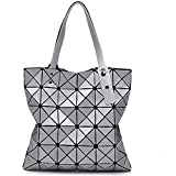 Aeoss Woman Shoulder Handbag College Office Casual Bag for Girls Women Teens Geometry