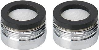 uxcell 2pcs 20mm Faucet Aerators Universal Male Faucet Replacement Part for Bathroom Lavatory Kitchen Sinks Faucet Bidet F...