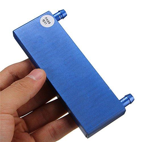 ILS - 122x41x12mm Aluminum Water Cooling Blocks per CPU Heatsink Cooler Plater