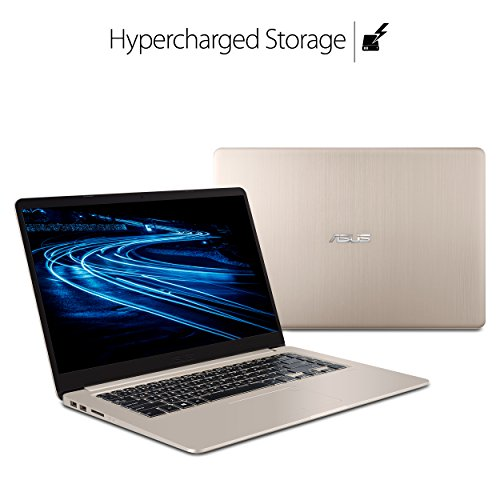 """Product Image 7: ASUS VivoBook S Ultra Thin and Portable Laptop, Intel Core i7-8550U Processor, 8GB DDR4 RAM, 128GB SSD+1TB HDD, 15.6"""" FHD WideView Display, ASUS NanoEdge Bezel, S510UA-DS71"""