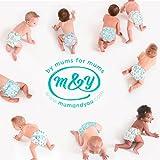 Mum & You Nappychat Eco-Windeln Gr. 6 (58 Stück). Bis zu 12 Stunden Trockenheit. Dermatologisch getestet diaper, ohne Chlor und Duftstoffe. - 8