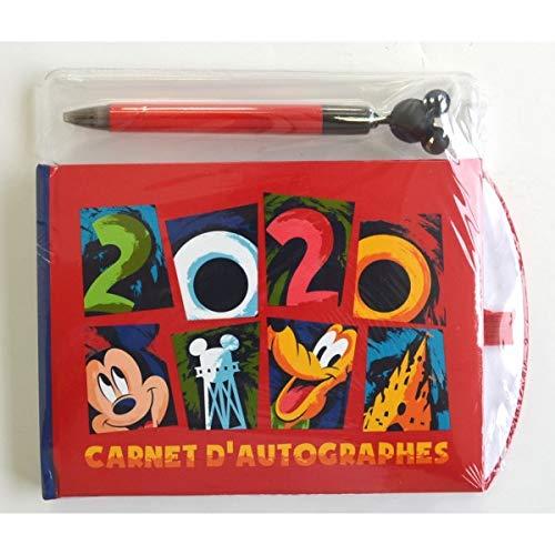 Disneyland Paris 2020 - Libro de autógrafos y bolígrafo