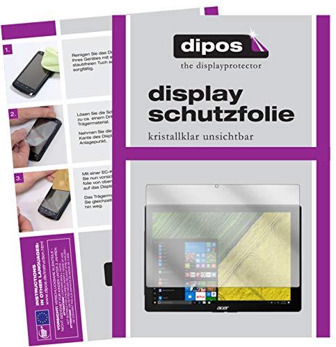 dipos I 2X Schutzfolie klar kompatibel mit Acer Switch 5 Pro SW512-52P Folie Bildschirmschutzfolie