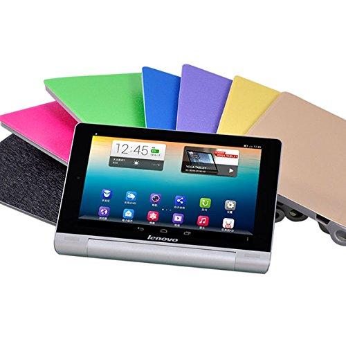 Tutoy Folding Stand PU Lederen Hoesje Cover Voor Lenovo B6000 Tablet