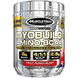 Muscletech Myobuild BCAA Amino Acids Supplement, Muscle Building and Recovery Formula with Betaine & Electrolytes