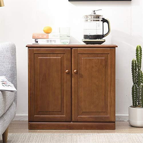 JIAGU Gabinete de Consola de Almacenamiento Cocina for Guardar aparador Antiguo apilable Gabinete for el hogar Armario Buffet Comedor (Color : Light Brown, Size : 67x35x63cm)