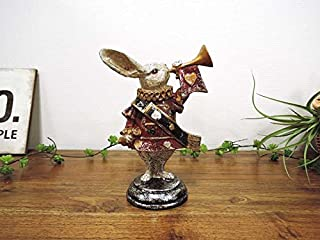 トランプラビット うさぎ 兔 置物 かわいい おしゃれ オブジェ 大人 アンティーク クラシック レトロ インテリア雑貨