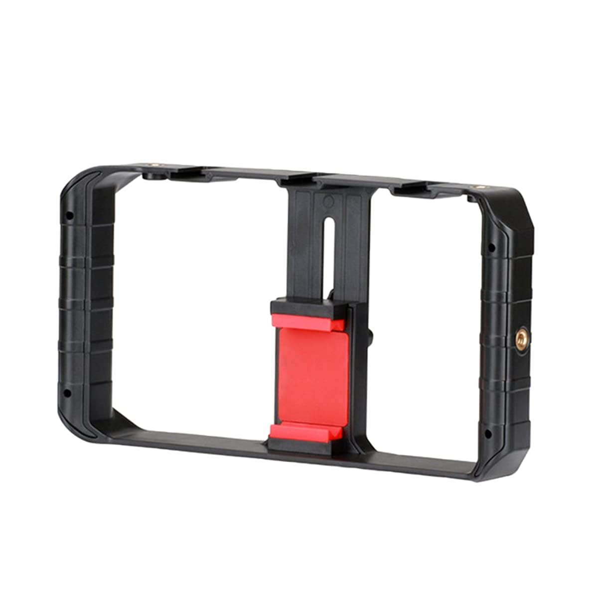 Homyl Ulanzi U-Rig Pro Smartphone Video Rig 3 Shoe Mounts Filmmaking Case Handheld Phone Video Stabilizer Grip Tripod Mount Stand for iPhone X 8 8 Plus Samsung S8 and More