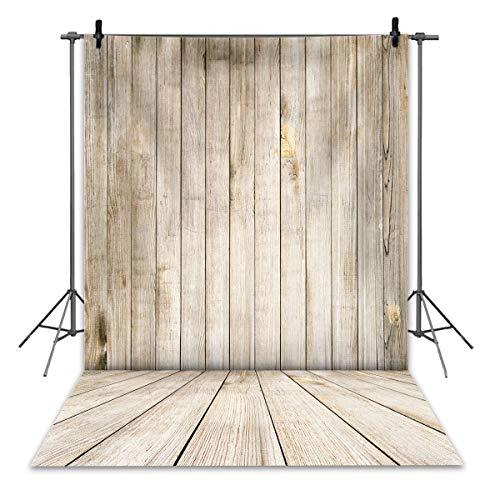 Ruini Hintergrund rustikal, Vintage-Stil, Holztextur, Wand-/Boden-Foto-Hintergrund, Portrait-Foto, Kindergeburtstag, Babyparty, 1,5 x 2,1m