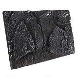 UKCOCO Tablero de Fondo de Piedra de Acuario-Fondo Natural 3D Decoración de Terrario de Reptil Fondo de Piedra de Roca para Pecera de Reptil
