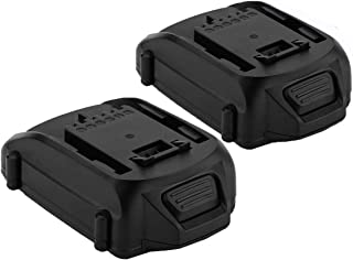 Exmate 2 Pack 18V 2.5Ah Li-ion Replacement Battery for Worx WA3511 WA3512 WA3512.1 WA3523 WG151 WG151E WU287 WU381 WX163 Cordless Tools