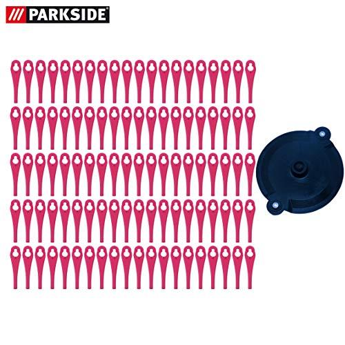 Kunststoffmesser Set (100er Pack) mit Schneidscheibe, für Parkside Akku Rasentrimmer PRTA 20 Li A1 - LIDL IAN 311046