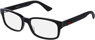 Gucci GG0012O Plastic Rectangular Eyeglasses 54 mm