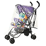 WorldCare Baby Universal Waterproof Stroller Rain Cover Wind Shield Pushchair Cover^