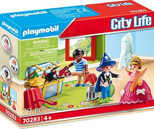 PLAYMOBIL City Life 70283 City Life Playmobil Kinder mit Verkleidungskiste, bunt