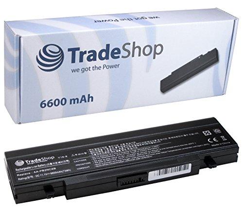 Trade-shop - Batería para portátiles Samsung R-39, R-40, R-41, R-45, R-60, R-65, R-70, R-410, R-510, R-700, R-710, NP-P-50, NP-P-60, NP-R-40, NP-R-45, NP-R-65, NP-R-70, NP-X-60, sustituye a AA-PB2NC6B (6600 mAh)