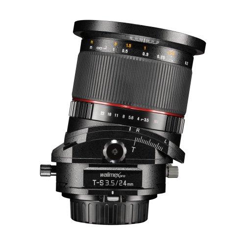 walimex pro T-s CSC - Objetivo para Sony/Minolta (apertura f/3.5 f stop-22 f stop), negro