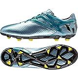 Adidas Messi 10.1 Firm Artificial Ground, Botas para Hombre, Matt Ice Met.F12/Bright Yellow/Core Black, 46 EU