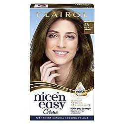 Ash brown hair dye nice n easy