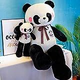 kaige Cartoon Peluche Panda Peluche Cadeau d'anniversaire Mignon en Peluche personnalisé (Couleur: 110cm) WKY (Color : 110cm)