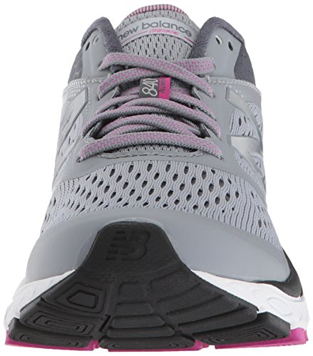 New Balance Women's 840 V4 Running Shoe, Light Grey, 8 D US 3