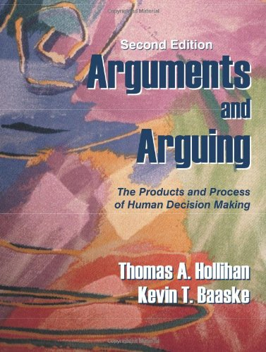 Arguments and Arguing: The Products and Process of Human...