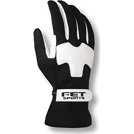 FETスポーツ 3Dライトウェイトグラブ グローブ ブラック/ホワイト M FT3DLW06