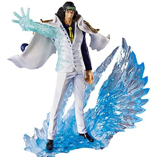 Kioiien Anime Figure One Piece Figure Admirals Kuzan-Aokiji Modelo Hecho a Mano PVC Modelo Muñecas Modelo Modelo Colección de figurillas Regalos de cumpleaños en Caja