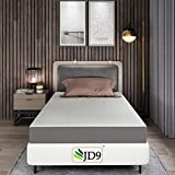 JD9 6 Inch Gel Memory Foam + High Resilience Foam Single Bed Size
