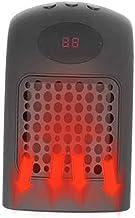 Calefactor Eléctrico Portátil Calentador Calefactor de Aire Caliente Termoventiladores de Ventilador Calentador de Cerámica de PTC para Hogar Oficina 900W Calentador de Aire Deajing
