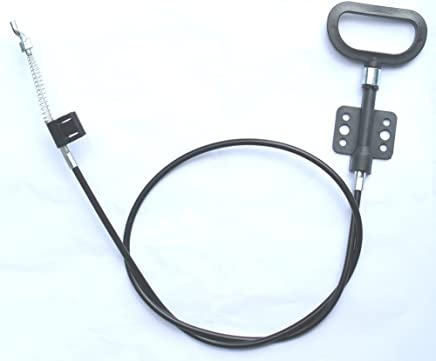 Alemon 3.25 INCH Black Recliner Cable with Release Handle