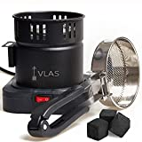 VLAS Electric Charcoals Starter | Portable Heater Stove (for Home use) | Coals Burner (Lighter) Accessories | USA Plug | 110 v |