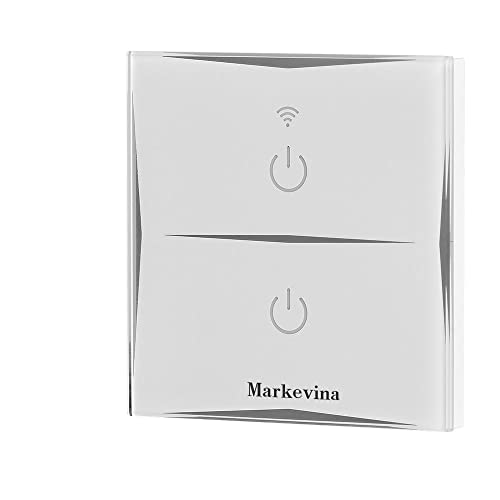 smart light switch wifi switch compatible with alexa and google assistant,  timing schedule, app