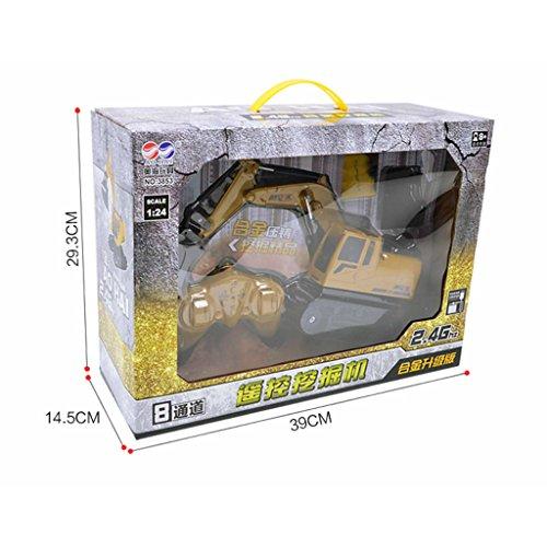 RC Auto kaufen Baufahrzeug Bild 5: Fenteer 1:24 Ferngesteuerter Bagger RC Baufahrzeug Spielzeug mit Sound & Lichter Effekt*